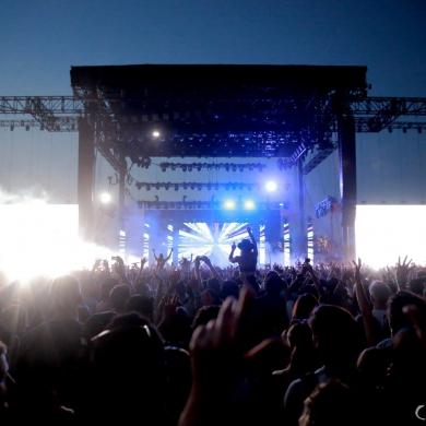 Coachella 2014 Coachella Stage - Calvin Harris