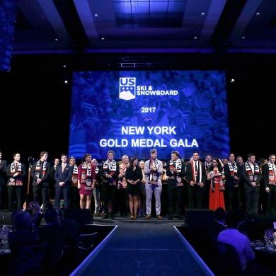 US Ski & Snowboard Gold Medal Gala NYC 2017